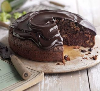 Chocolate courgette cake - BBC good food